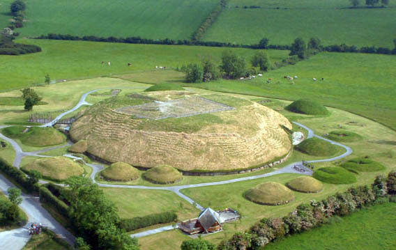 aerial knowth